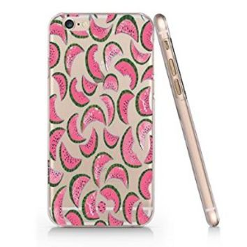 Watermelon Pattern Iphone 6 case, Iphone 6 Case Slim White Cover Skin (4.7'' Screen)- Quindyshop (AM434)