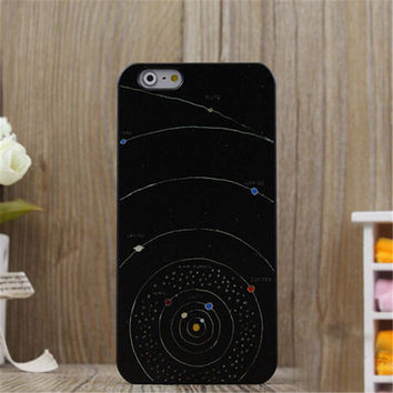 Universe Print iPhone 5/5S/6/6S/6 Plus/6S Plus creative case