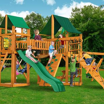Gorilla Playsets Pioneer Peak Supreme CG Wooden Swing Set