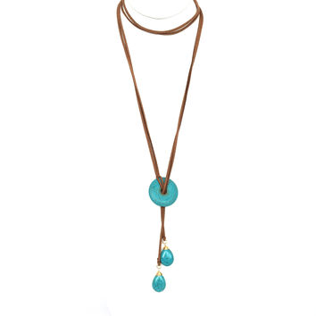 Dry Land Turquoise Necklace