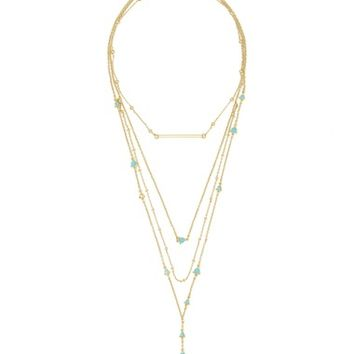 BaubleBar Harlow Layered Lariat Necklace | Nordstrom