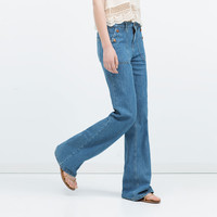 FLARED JEANS New
