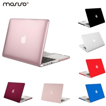 Mosiso Hard Sleeve Shell Case for Macbook Pro 13 15 Retina A1502 A1425 A1398 Year 2013 2014 2015 + silicone Keyboard cover