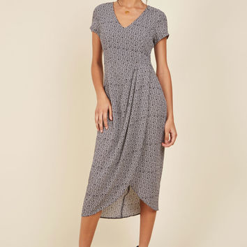 Crepes and Coffee Midi Dress | Mod Retro Vintage Dresses | ModCloth.com