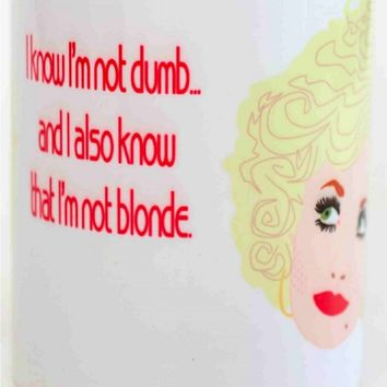 Dolly Parton Mug - Illustrated in the USA