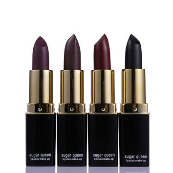 Sugar Queen Brand 13Color Velvet Matte Lipstick Set Waterproof Lip Balm Batom Baby Lip Kit Lip Stick Nude Makeup Korean Cosmetic