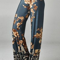 Going Undercover Floral Palazzo Pants
