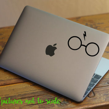 "FREE SHIPPING! - 4"" Harry Potter Glasses decal - Multiple designs available!"
