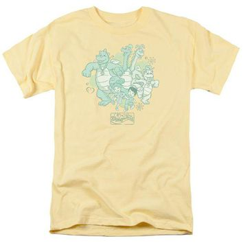 ac NOOW2 Dragon Tales - Group Celebration Short Sleeve Adult 18/1