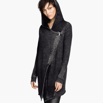 H&M Hooded Sweatshirt Cardigan $39.95
