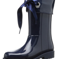 igor Girl's Campera Charol Navy Rain Boot