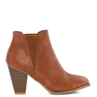 Acacia Bootie in Chestnut