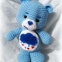 Care Bear; Grumpy Bear; CROCHET PATTERN PDF