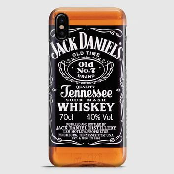 Jack Daniels Black Label iPhone X Case | casescraft