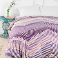 Magical Thinking Linear Chevron Duvet Cover