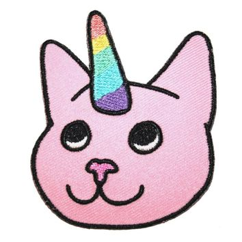 Extreme Largeness Cat Unicorn Patch | Attitude Clothing