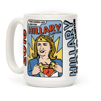 SUPER HERO HILLARY CLINTON