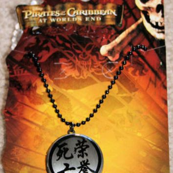 Licensed cool NEW Disney Pirates of the Caribbean Orlando Bloom Photo Pendant Locket Necklace