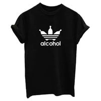Alcohol Women T shirt