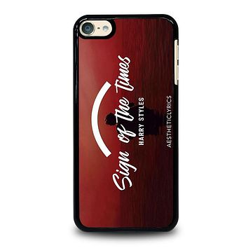 HARRY STYLES SIGN OF TIMES iPod 4 5 6 Case