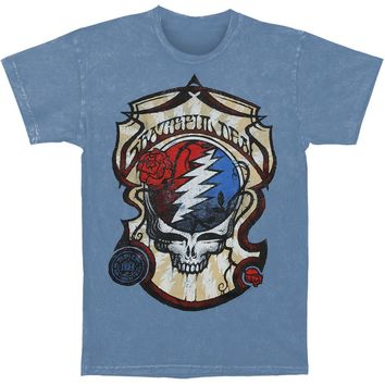 Grateful Dead Men's  Vintage T-shirt Blue