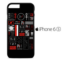 Twenty One Pilots Blurryface Collage iPhone 6S Case