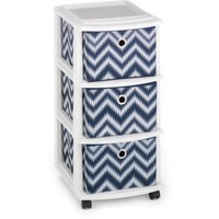 Homz Medium Cart with 3 Drawers, Set of 3 - Walmart.com