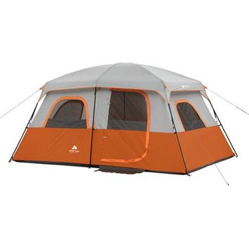 Ozark Trail 8-Person 2-Room Family Cabin Tent - Walmart.com