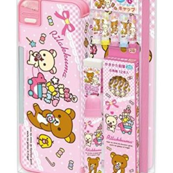 San-X Rilakkuma Stationery 7 Piece Set / School Supply Gift Set (GS12701)