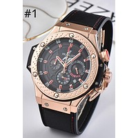 HUBLOT 2019 new fashion casual quartz watch waterproof watch #1