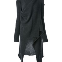 Lost And Found draped cardigan