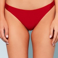Stretch-Knit Bikini Bottoms