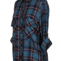 Greer Plaid Button Down
