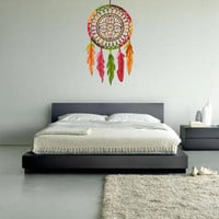 Full Color Wall Decal Mural Sticker Dream Catcher Dreamcatcher Art Paintings American Native (col151)