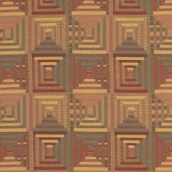 Fabricut 2838902 Log Cabin Quilt Mansion