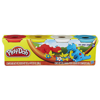 Play-Doh 4-Pack - Classic Colors