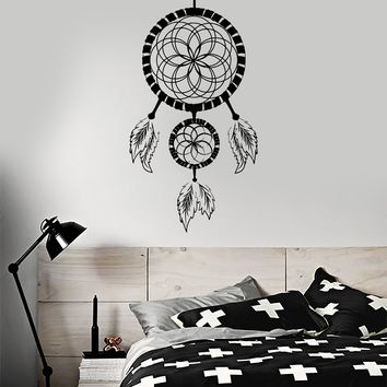 Wall Decal Dreamcatcher Dream Catcher Bedroom Talisman Vinyl Stickers Unique Gift (ig3006)