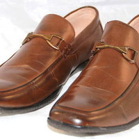STEVE MADDEN M-Peril Loafers Slip on Brown Mens Size 12 W