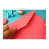 PlanD Button A4 size document file folder ver.2