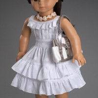 Fleur Blanc Dress - fits American Girl Dolls