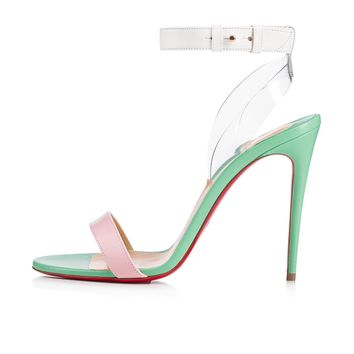 Jonatina 100 Version Opal Leather - Women Shoes - Christian Louboutin