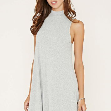 Mock Neck Trapeze Dress | Forever 21 - 2000153633