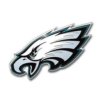 Licensed Official NFL Philadelphia Eagles Premium Vinyl Decal / Sticker / Emblem - Pick Your Pack
