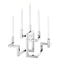 Silver Candle Holder | Eichholtz Skyline
