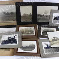 Historic Collection of Antique Farm & Tractor Photographs Dating between 1890s – 1917, South Dakota