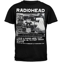 Radiohead - Ice Caps Graphic Soft T-Shirt