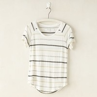 Craft + Commerce Scoop Neck Stripe T-Shirt