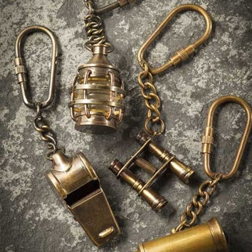 Coach Whistle Keychain