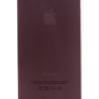 Black Frosted Transparent Soft Case for iPhone 5 & 5s