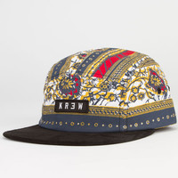 Kr3w Marseilles Mens 5 Panel Hat Multi One Size For Men 22942695701